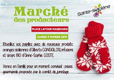 """Marché des producteurs """"spécial hiver"""""""