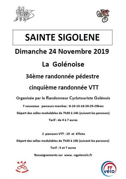 Randonnée pédestre et VTT La Golénoise