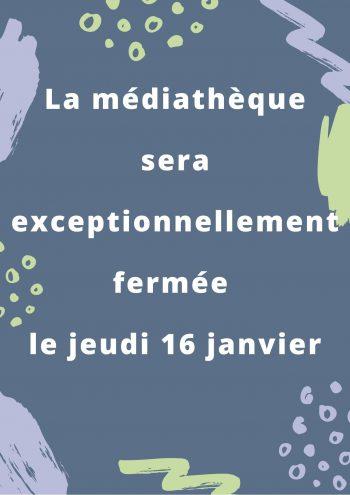 Informations Médiathèque
