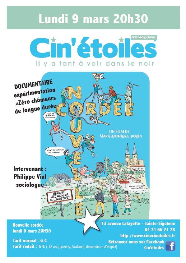 """Projection film """"Nouvelle cordée"""", suivi d'un échange et discussion avec Philippe Vial, sociologue"""