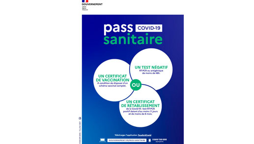 COVID-19 Informations Pass sanitaire
